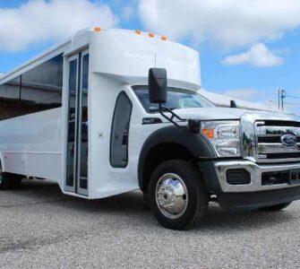 22 Passenger party bus rental