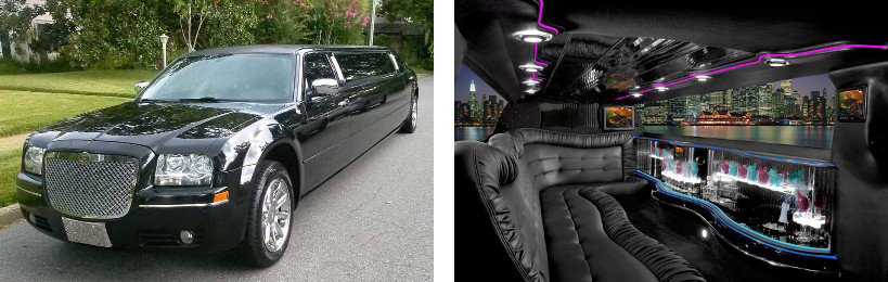 chrysler limo service greenville