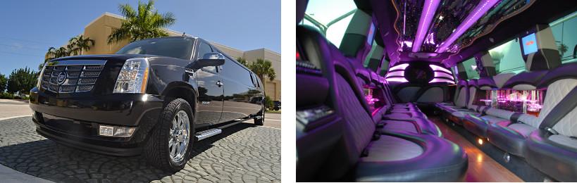 escalade limo service gautier