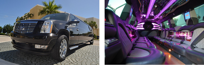 escalade limo service meridian