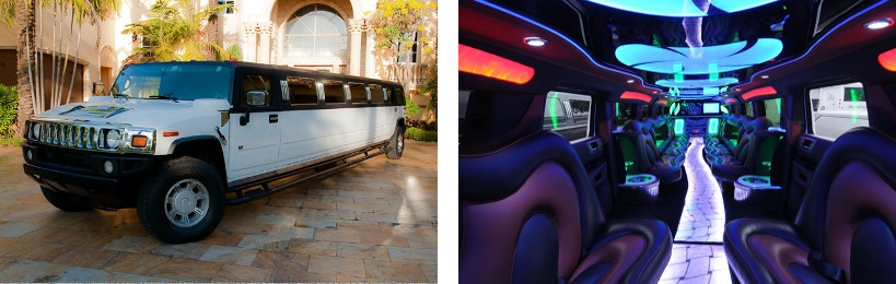 hummer limo service meridian