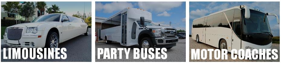 party bus limo rental Clinton