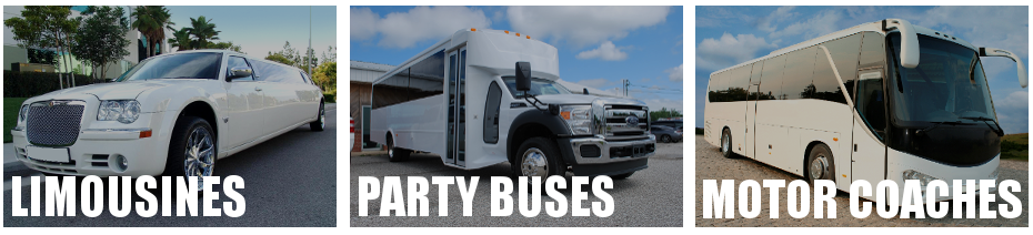 party bus limo rental brandon